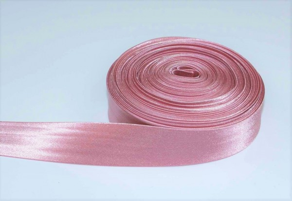 binding made of polyester, 20mm wide, Color: dusky pink - 10m