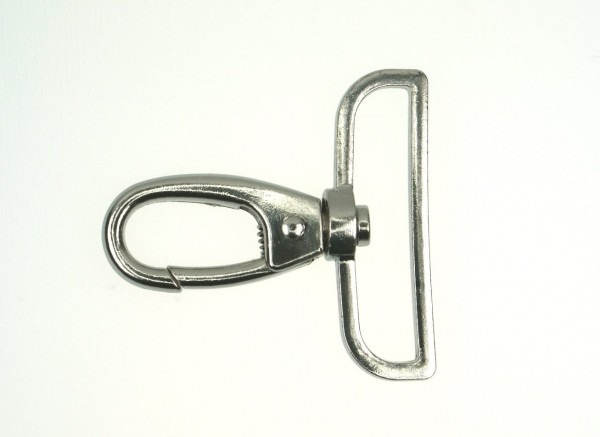 snap hook made of zinc die casting - 5,9cm long - for 50mm wide webbing - 10 pieces