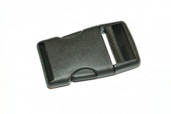 50 buckles for 20mm wide webbing, made of synthetic fiber - 50 pieces