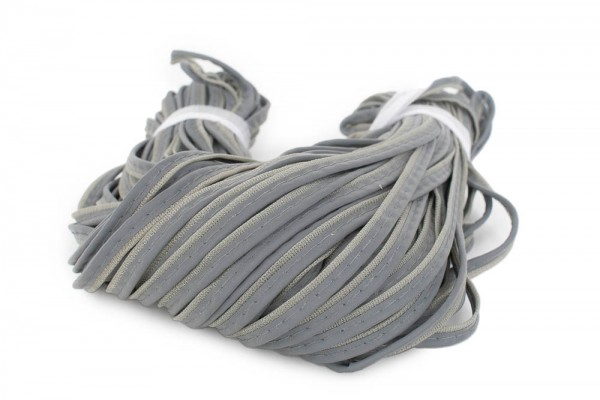 50m reflective piping with grey base layer
