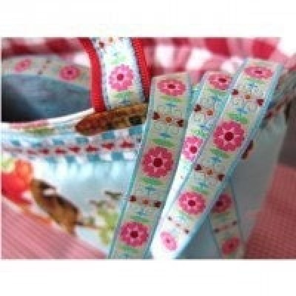 3m roll webbing design by Eva, 12mm wide, retro, shining bright