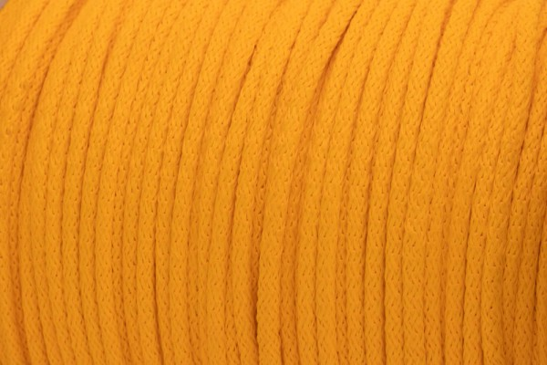50m PP-String - 3mm thick - Color: yellow (UV)