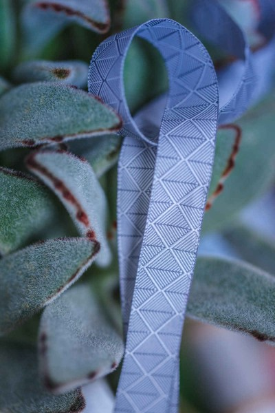 5m roll webbing Design by Lila-Lotta - 15mm wide, forest grey