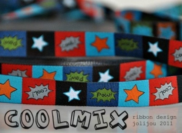 5m roll webbing design by jolijou, 15mm wide, COOLmix