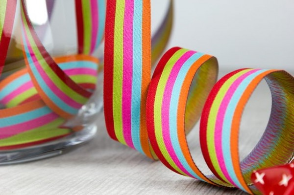 5m roll webbing design by Farbenmix, 20mm wide, stripes sweets
