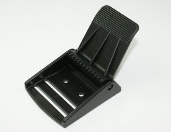clamping buckle / flap buckle made of polyacetale, for 50mm - 1 piece
