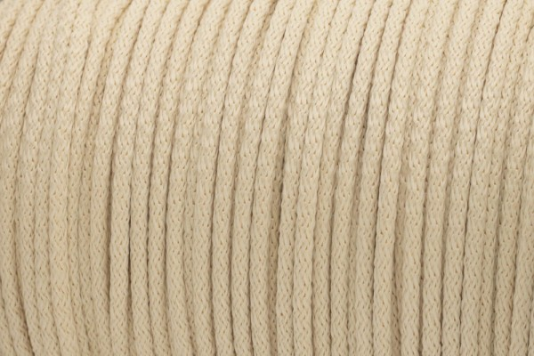 50m PP-String - 3mm thick - Color: cream (UV)