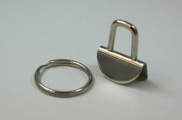 clamp lock for key fob, for 20mm wide webbing - 10 pieces