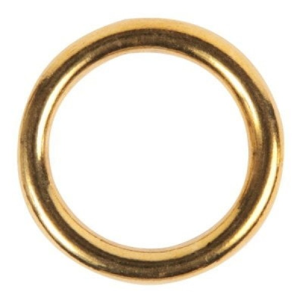 25mm o-ring (inner measurement) made of 4,5mm thick brass - 1 piece