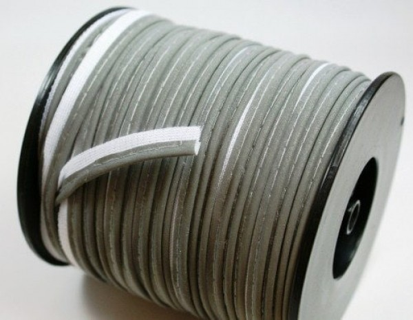 50m reflective piping with white base layer