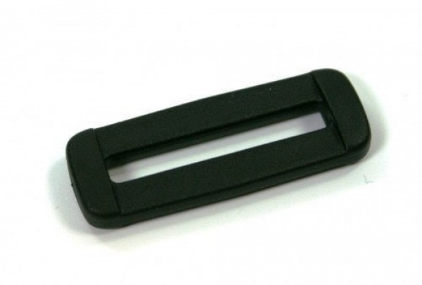 oval ring made of plastic for 25mm wide webbing - 50 pieces