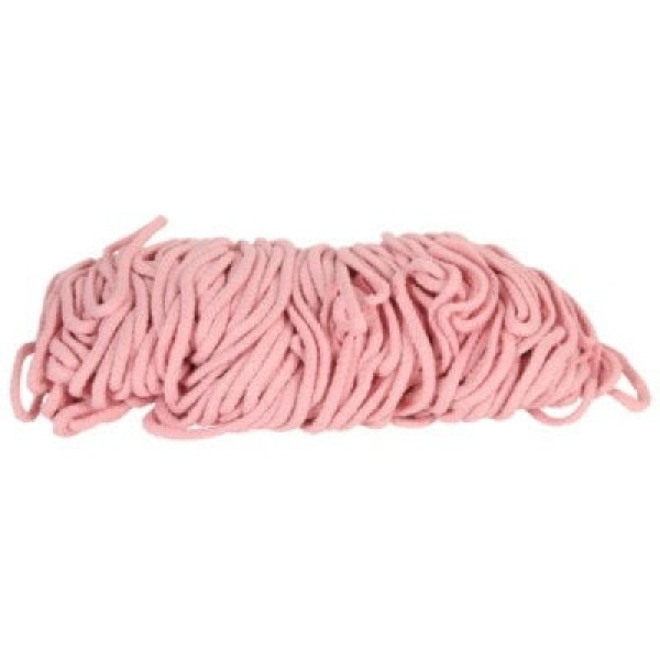 50m cotton cord / BW cord - 5mm thick - Color: light rose