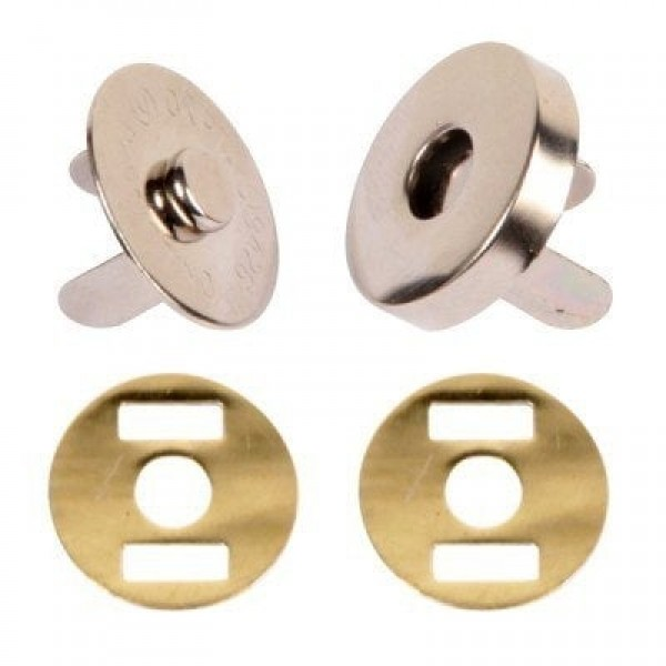 magnetic lock / magnetic closure 18mm - 100 pieces