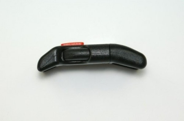 safety buckle curved for 15mm wide webbing - 10 pieces