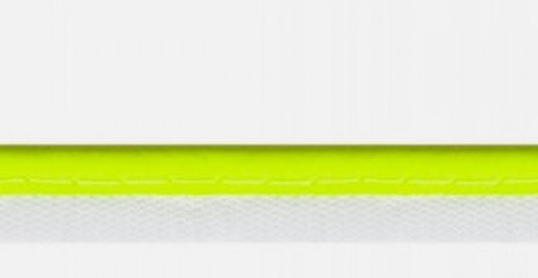 1m reflective piping - neon yellow