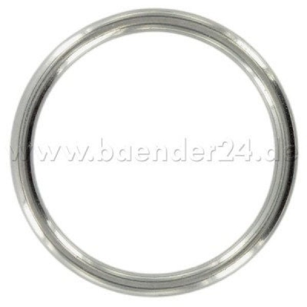 40mm toroidal ring made of V4A stainless steel, 5mm thick - 1 piece