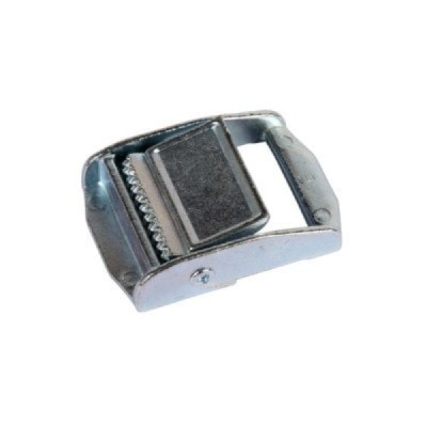 clamping buckle made of zinc die-casting, galvanized, for 20mm wide webbing - 1 piece