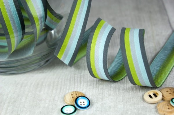 5m roll webbing design by Farbenmix, 20mm wide, stripes mountain