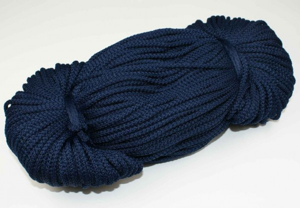 2mm thick polyester cord - 100m length - color: dark blue