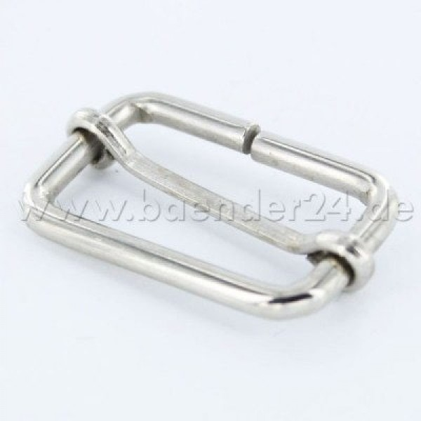 regulator made of steel, for 25mm wide webbing - 1 piece