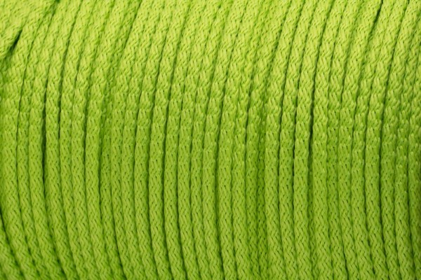 50m PP-String - 3mm thick - Color: lime (UV)