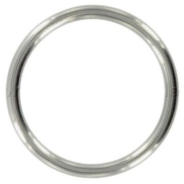 40mm toroidal ring made of V4A stainless steel, 5mm thick - 10 pieces