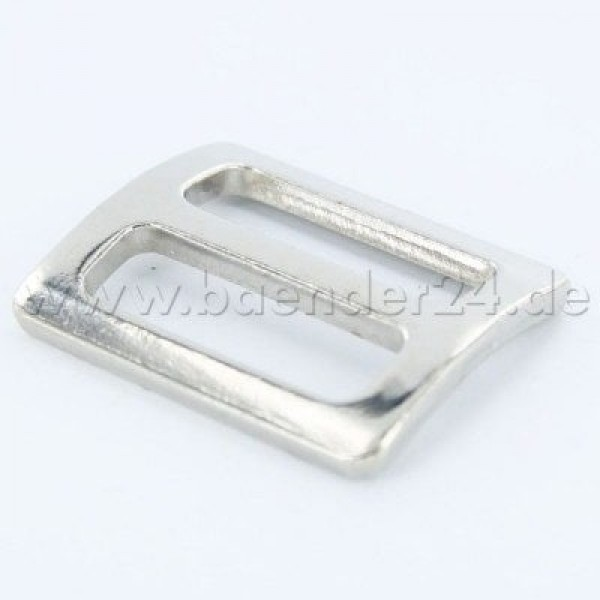 regulator made of steel, nickel-plated, for 25mm webbing - 1 piece