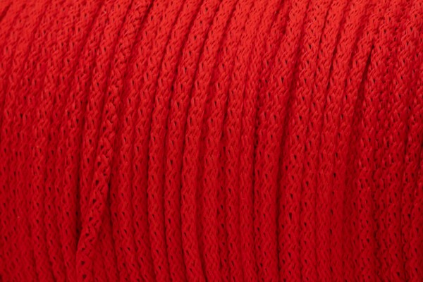 50m PP-String - 3mm thick - Color: red (UV)