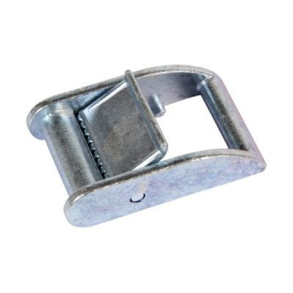 clamping buckle made of zinc die-casting - up to 450kg - size large - for 25mm wide webbing - 1 piece