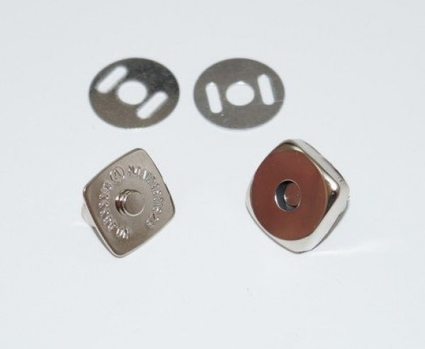 magnetic lock / magnetic closure 15mm - angular - 1 piece