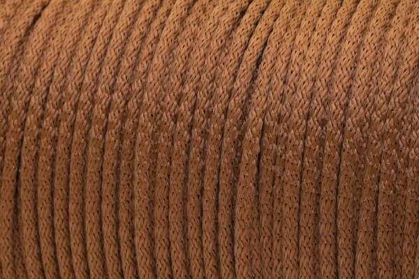 10m PP-String - 5mm thick - Color: light brown (UV)
