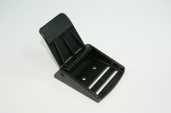 clamping buckle / flap buckle made of polyacetale, 50mm - 10 pieces