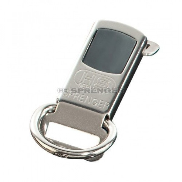 ClickLock by Sprenger - silver - with D-ring & jacket