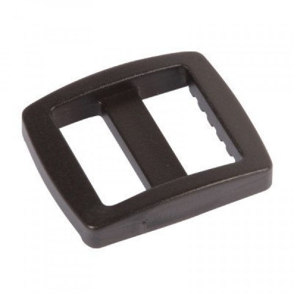 Strap adjuster 20mm wide made of plastic, high opening - 50 pieces