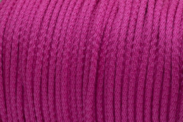 50m PP-String - 3mm thick - Color: orchid rose (UV)
