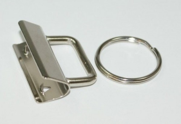 clamp lock for key fob, for 30mm wide webbing - 10 pieces