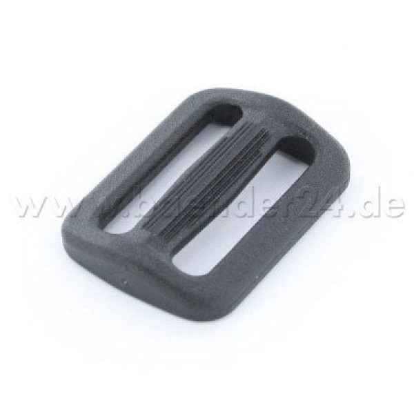 Strap adjuster TG made of nylon - for 40mm wide webbing - 25 pieces
